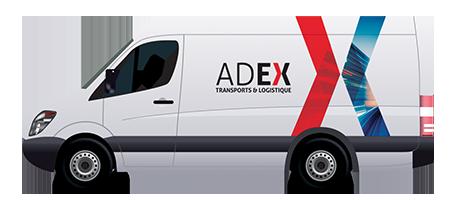Adex véhicule 4 palettes