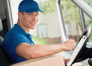 chauffeur en livraison